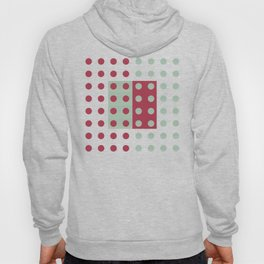 """Pink and Aquamarine Pastel Pattern, Marilyn"" Hoody"