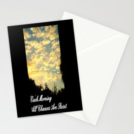 Each Morning Stationery Cards