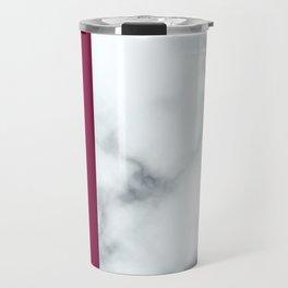 Berry Marble Travel Mug