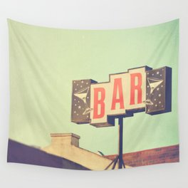 Bar. Los Angeles photograph Wall Tapestry