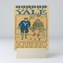life at yale   in july scribners. 1897  Affiche Mini Art Print