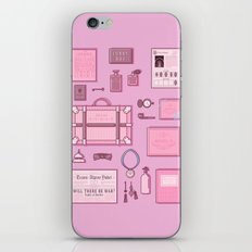 Grand Budapest Items iPhone & iPod Skin