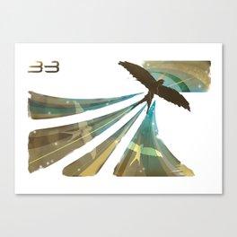 3 Birds Canvas Print