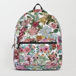 soft floral 1 Backpack