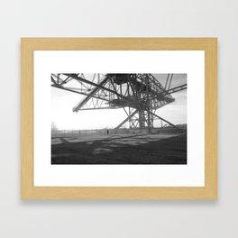 Coal Mine Framed Art Print