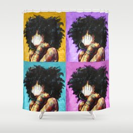 Naturally II Colors Shower Curtain