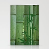 bamboo Stationery Cards featuring Bamboo by Anne Seltmann