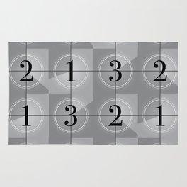 321 Cinema // Old Film Countdown Rug