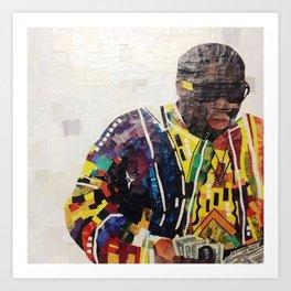 COOGI SWEATER ON Art Print