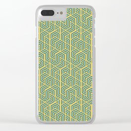 Pattern Vibes Clear iPhone Case