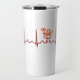 Cosplaying Heartbeat Travel Mug