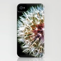 Fractal dandelion iPhone (4, 4s) Slim Case