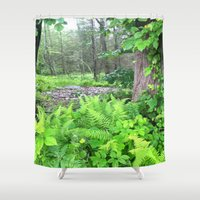 abyss Shower Curtains featuring Abyss  by Riley Gallagher