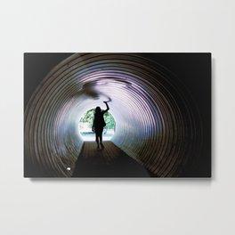 Tunnel Metal Print