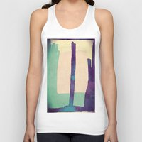 planet Tank Tops featuring Planet by munich