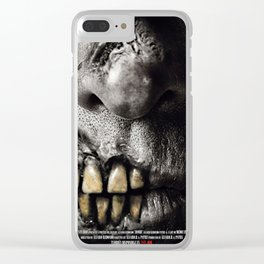 Zombi poster Clear iPhone Case