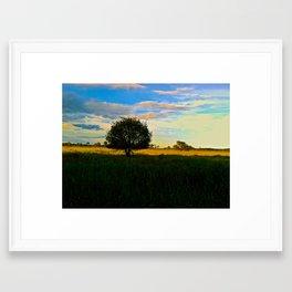 Open Field Framed Art Print