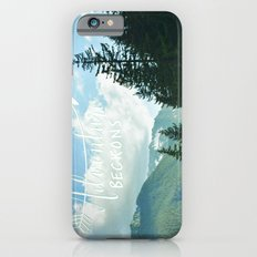 Adventure Beckons iPhone 6s Slim Case