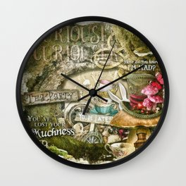 Tea Party Wall Clock