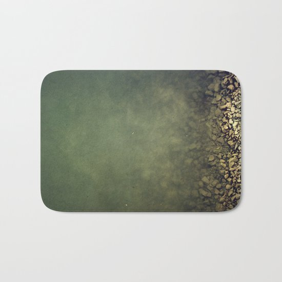 Rocks and water Bath Mat
