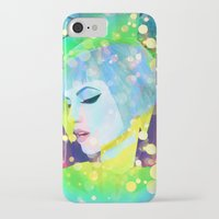 hayley williams iPhone & iPod Cases featuring Digital Painting - Hayley Williams - Variation 2 by EmmaNixon92
