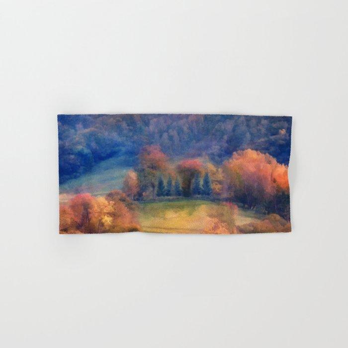 Fall landscape Hand & Bath Towel