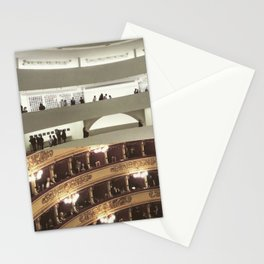 Architecture of Impossible_Round spaces Stationery Cards
