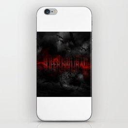 Supernatural darkness iPhone Skin