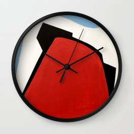 number 3 Wall Clock