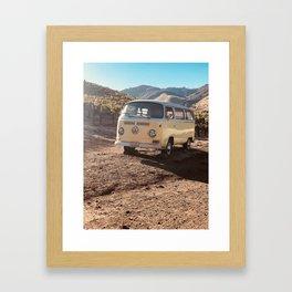 Camp Cabernet Framed Art Print