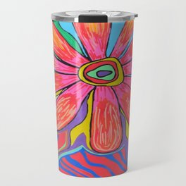 First big flower Travel Mug