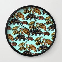 Turtle Skin Wall Clock