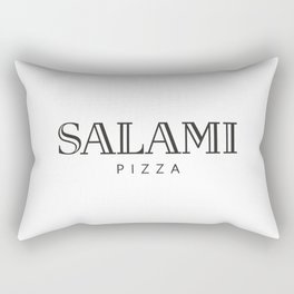 SALAMI PIZZA - taste for fashion Rectangular Pillow