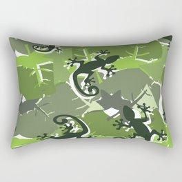 Gek-ko Rectangular Pillow