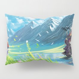 Howls Moving Castle Pillow Sham