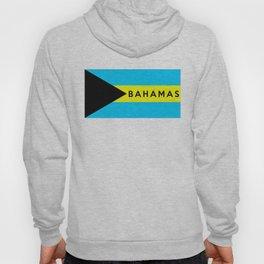 bahamas country flag name text Hoody