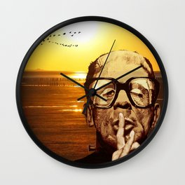 FRANKY as an Ornithology Warden or how to give a broad hint Wall Clock