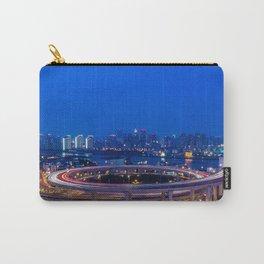 nanpu bridge river huangpu shanghai Carry-All Pouch