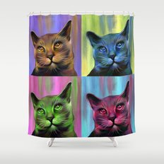 Meow Shower Curtain