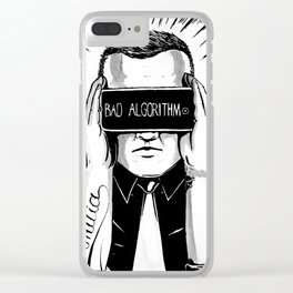 It make us blind Clear iPhone Case