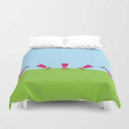 Cartwheel Duvet Cover