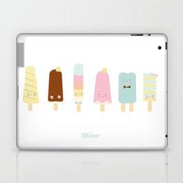 Icecreams all over Laptop & iPad Skin