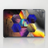 hexagon iPad Cases featuring hexagon II by donphil
