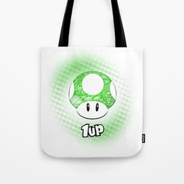 1-UP from Mario Tote Bag