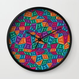 Quad Quandary Wall Clock