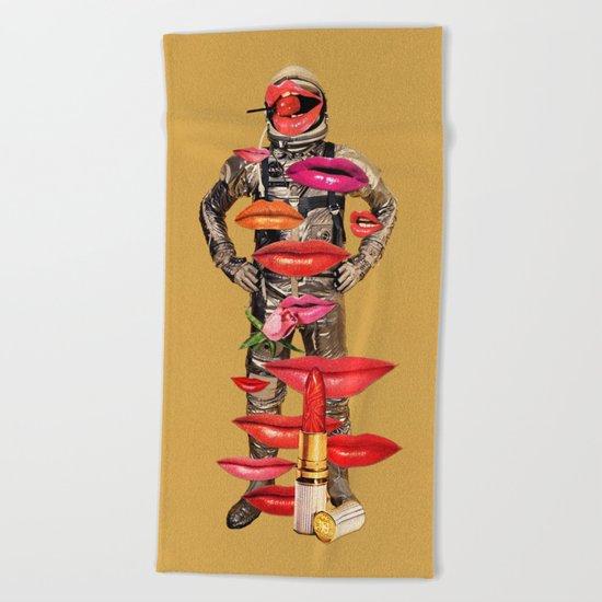 Rocket Man Beach Towel