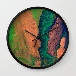POUR ART 3 Wall Clock