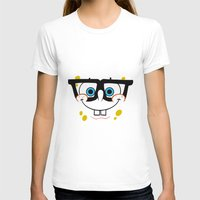 spongebob T-shirts featuring Spongebob Nerd Face by Cute Cute Cute