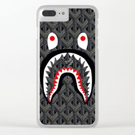 Goyard Bape Clear iPhone Case