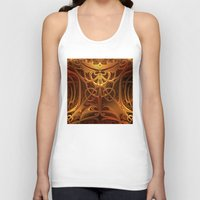 metallic Tank Tops featuring Metallic Marvel by Lyle Hatch